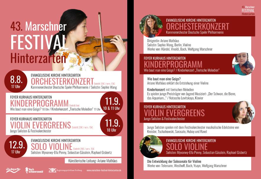 Marschner Festival Flyer 2021