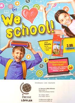Presse Loeffler We Love School