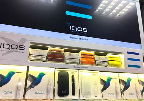Iqos Verkaufsshop Pfaff´s Tabakwaren in Freiburg