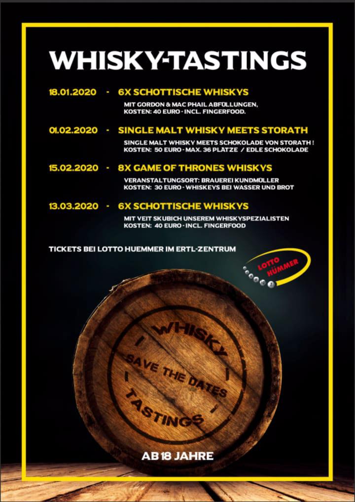 Whiskytastings Lotto Hümmer Hallstadt bei Bamberg