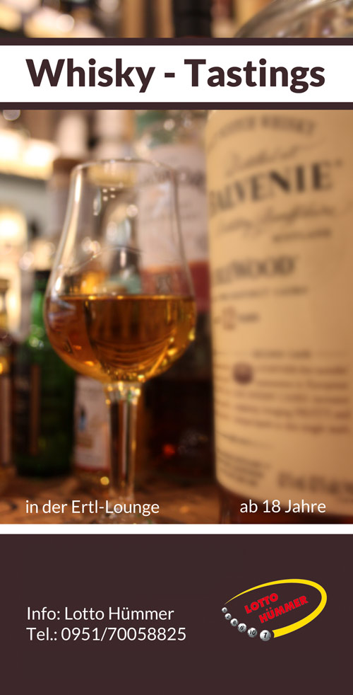 Veranstaltungshinweis Whiskytasting