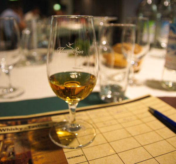 1. Whiskytasting in der ERTL-Lounge