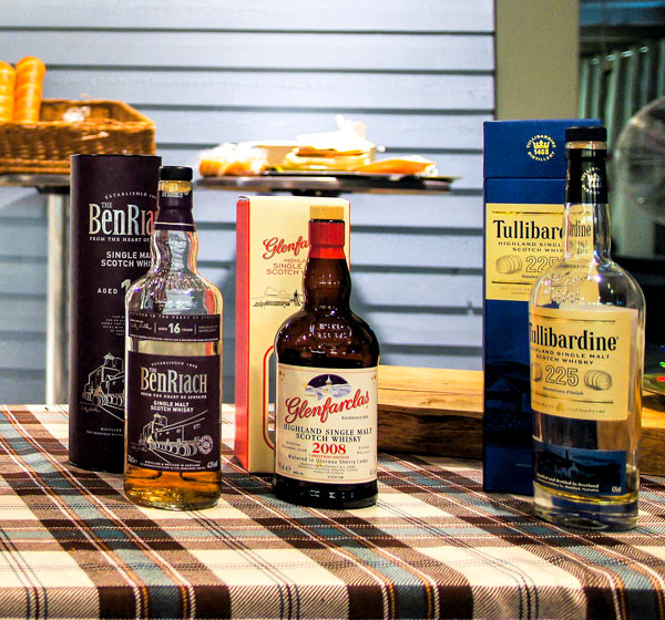 2. Whiskytasting in der ERTL-Lounge