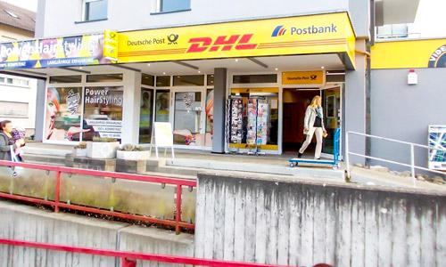 Postfiliale Tiengen - Postbankservice und DHL