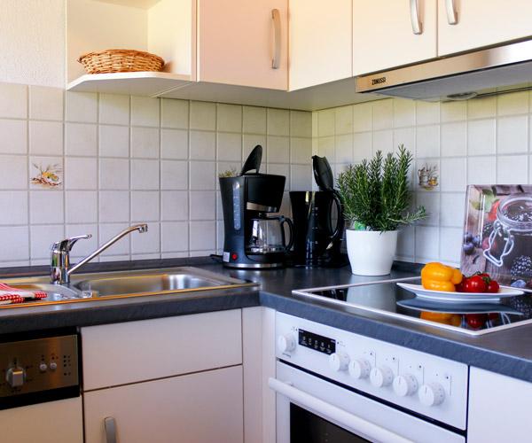 Ferienwohnung Flieder - Küche