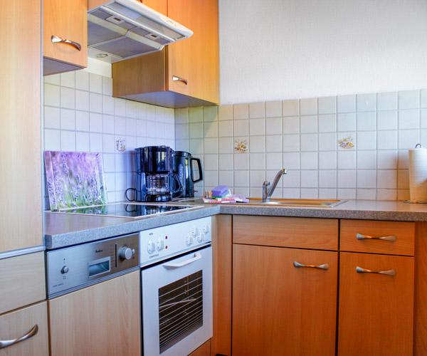 Ferienwohnung Lavendel - Küche