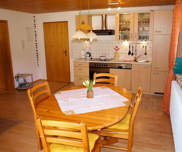 Ferienwohnung Rose - Küche