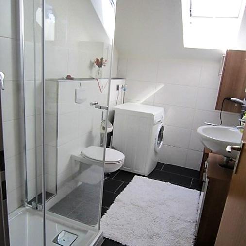 Ferienwohnung Trollenlaube - Badezimmer mit Dusche/WC